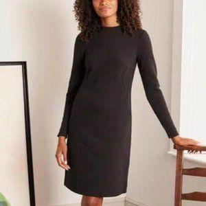 NEW Boden Henrietta Ottoman Dress Black Women's 14